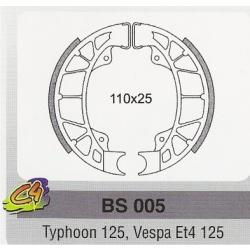 Ferodouri frana Piaggio Typhoon 125, Vespa Et4 125-0