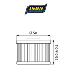 Filtru ulei ISON112-0