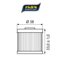 Filtru ulei ISON116-0