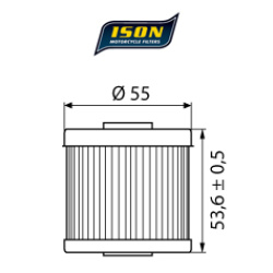 Filtru ulei ISON123-0
