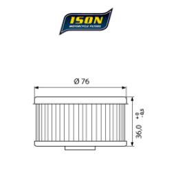 Filtru ulei ISON144-0