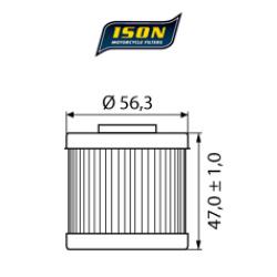 Filtru ulei ISON151-0