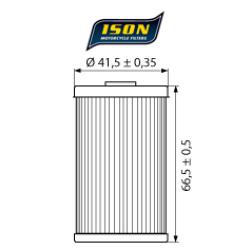 Filtru ulei ISON155-0