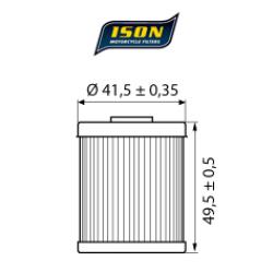 Filtru ulei ISON157-0