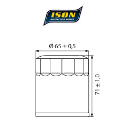 Filtru ulei ISON303-0
