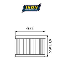 Filtru ulei ISON401-0