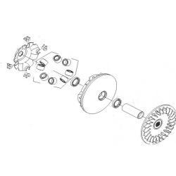 Variator ATV Linhai 260-300 Complet-0