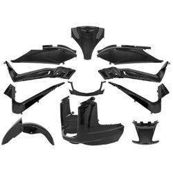 Set carene negre Yamaha X-Max 125cc 11pcs-0