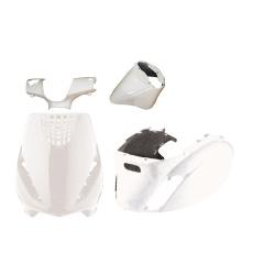 Set carene albe Piaggio Zip 4pcs-0