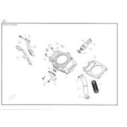 Motor si componente ATV Yamaha