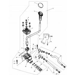 Burduf schimbator viteze Linhai 260-400cc 21607-0