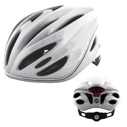 Casca Biciclist METRO-GLO Alb L 56-62CM