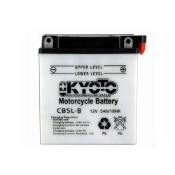 Baterie KYOTO YB5L-B = 12N5-3B (ACID, CU INTRETINERE)