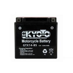 Baterie KYOTO YTX14-BS (ACID, FARA INTRETINERE)