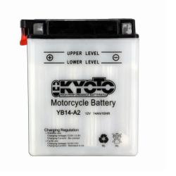 Baterie KYOTO YB14-A2 (CU INTR., INCL. ACID)