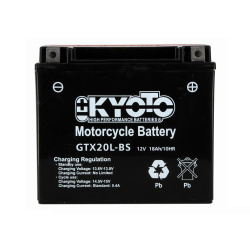 Baterie KYOTO YTX20L-BS (ACID, FARA INTRETINERE)