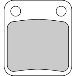 Placute Frana KAWASAKI KVF 300 PRAIRIE 2×4/4×4 300 1999 2002