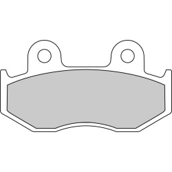Placute frana spate TRX 250 R Fourtrax 250 1986 1989 2015 Dreapta