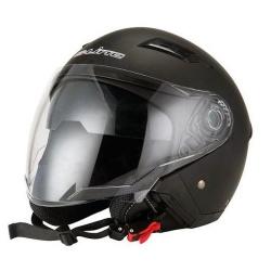 CASCA MOTO Sifam S-LINE OPEN-FACE S760 – NEGRU MAT – XS (CU OCHELARI SOARE)