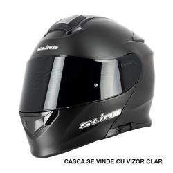 Casca Flip-up S-LINE S550 NEGRU MAT L