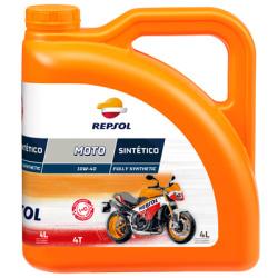 Ulei Moto 4T 10W40 4L Repsol Moto Sintetico
